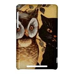 Owl And Black Cat Nexus 7 (2012)