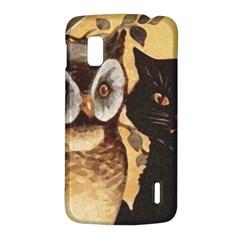 Owl And Black Cat LG Nexus 4
