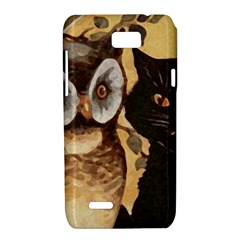 Owl And Black Cat Motorola XT788