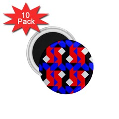 Pattern Abstract Artwork 1.75  Magnets (10 pack)