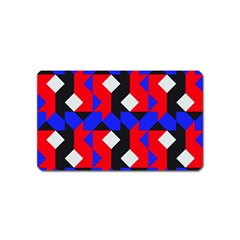 Pattern Abstract Artwork Magnet (Name Card)