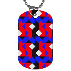 Pattern Abstract Artwork Dog Tag (One Side)