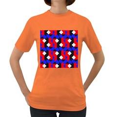 Pattern Abstract Artwork Women s Dark T-Shirt