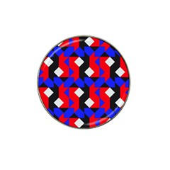 Pattern Abstract Artwork Hat Clip Ball Marker (4 pack)