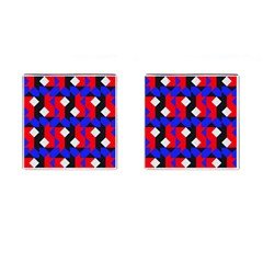 Pattern Abstract Artwork Cufflinks (Square)