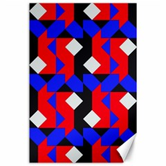 Pattern Abstract Artwork Canvas 24  x 36