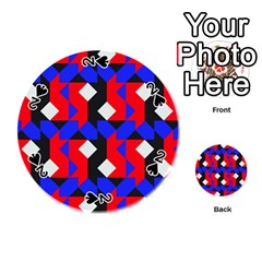 Pattern Abstract Artwork Playing Cards 54 (Round)