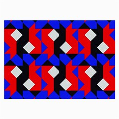 Pattern Abstract Artwork Large Glasses Cloth