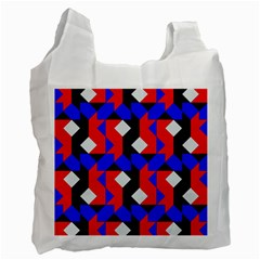Pattern Abstract Artwork Recycle Bag (One Side)