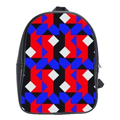 Pattern Abstract Artwork School Bags(Large)