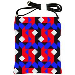 Pattern Abstract Artwork Shoulder Sling Bags