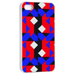 Pattern Abstract Artwork Apple iPhone 4/4s Seamless Case (White)