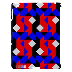 Pattern Abstract Artwork Apple iPad 3/4 Hardshell Case (Compatible with Smart Cover)