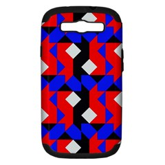 Pattern Abstract Artwork Samsung Galaxy S III Hardshell Case (PC+Silicone)