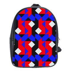 Pattern Abstract Artwork School Bags (XL)