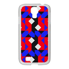 Pattern Abstract Artwork Samsung GALAXY S4 I9500/ I9505 Case (White)