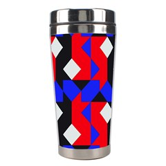Pattern Abstract Artwork Stainless Steel Travel Tumblers