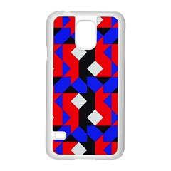 Pattern Abstract Artwork Samsung Galaxy S5 Case (White)