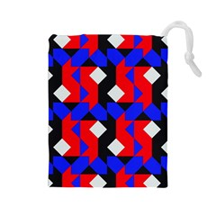 Pattern Abstract Artwork Drawstring Pouches (Large)
