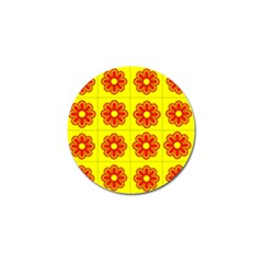 Pattern Design Graphics Colorful Golf Ball Marker