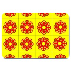 Pattern Design Graphics Colorful Large Doormat
