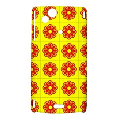 Pattern Design Graphics Colorful Sony Xperia Arc