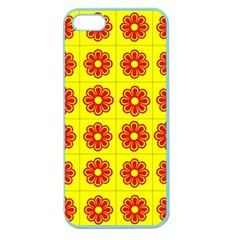 Pattern Design Graphics Colorful Apple Seamless iPhone 5 Case (Color)