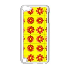 Pattern Design Graphics Colorful Apple iPod Touch 5 Case (White)