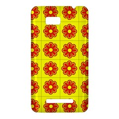 Pattern Design Graphics Colorful HTC One SU T528W Hardshell Case