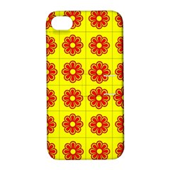Pattern Design Graphics Colorful Apple iPhone 4/4S Hardshell Case with Stand