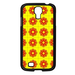 Pattern Design Graphics Colorful Samsung Galaxy S4 I9500/ I9505 Case (Black)