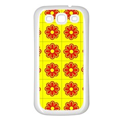 Pattern Design Graphics Colorful Samsung Galaxy S3 Back Case (White)