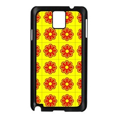 Pattern Design Graphics Colorful Samsung Galaxy Note 3 N9005 Case (Black)