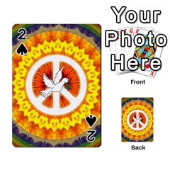 Peace Art Artwork Love Dove Playing Cards 54 Designs