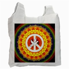Peace Art Artwork Love Dove Recycle Bag (Two Side)