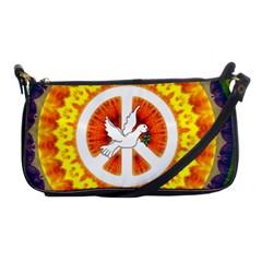 Peace Art Artwork Love Dove Shoulder Clutch Bags