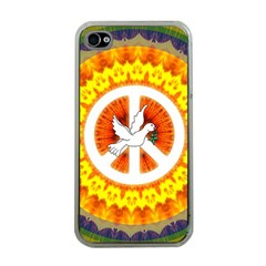 Peace Art Artwork Love Dove Apple iPhone 4 Case (Clear)