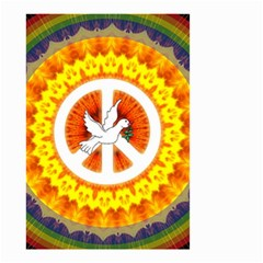 Peace Art Artwork Love Dove Small Garden Flag (Two Sides)