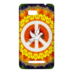 Peace Art Artwork Love Dove HTC One SU T528W Hardshell Case