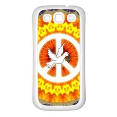Peace Art Artwork Love Dove Samsung Galaxy S3 Back Case (White)
