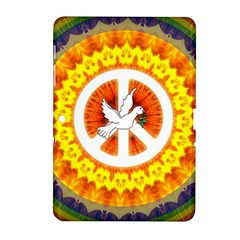 Peace Art Artwork Love Dove Samsung Galaxy Tab 2 (10.1 ) P5100 Hardshell Case