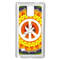 Peace Art Artwork Love Dove Samsung Galaxy Note 4 Case (White)
