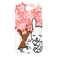 Rabbit Bunnies Animal Cute Tree HTC One S Hardshell Case