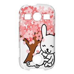 Rabbit Bunnies Animal Cute Tree Samsung Galaxy S7710 Xcover 2 Hardshell Case