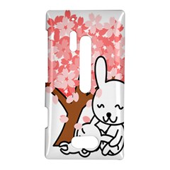 Rabbit Bunnies Animal Cute Tree Nokia Lumia 928