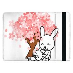 Rabbit Bunnies Animal Cute Tree Samsung Galaxy Tab Pro 12.2  Flip Case