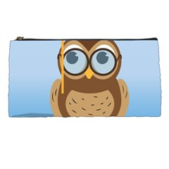 Read Owl Book Owl Glasses Read Pencil Cases