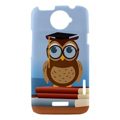 Read Owl Book Owl Glasses Read HTC One X Hardshell Case