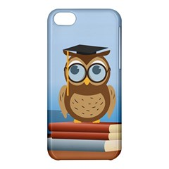 Read Owl Book Owl Glasses Read Apple iPhone 5C Hardshell Case