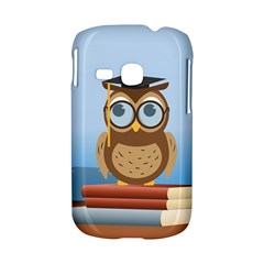 Read Owl Book Owl Glasses Read Samsung Galaxy S6310 Hardshell Case